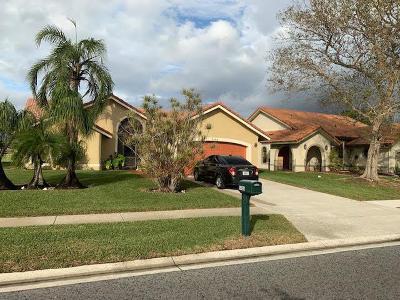 Boynton Beach Single Family Home For Sale: 5185 Brian Boulevard