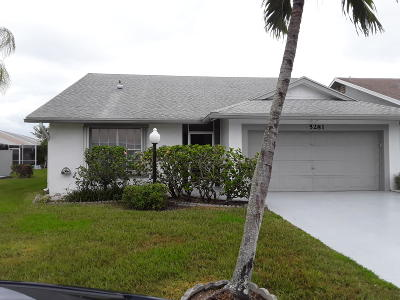 West Palm Beach Single Family Home For Sale: 5281 Tiffany Anne Circle