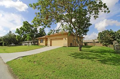 Lake Worth Single Family Home For Sale: 9215 Honeywell Road