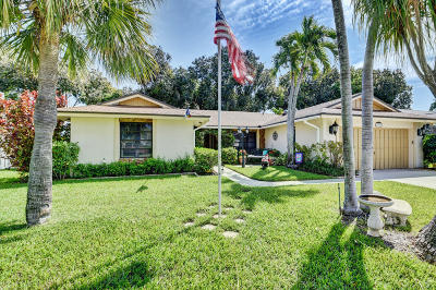 Boca Raton Single Family Home For Sale: 4045 Birchwood Drive