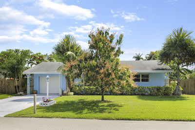 Lake Worth Single Family Home For Sale: 4202 Gulfstream Road