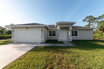 Loxahatchee Single Family Home For Sale: 18636 91st Place