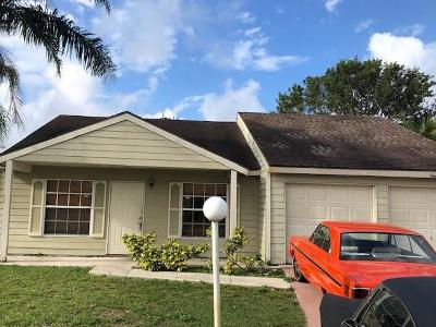 Lake Worth Single Family Home For Auction: 7926 Ridgewood Drive Drive