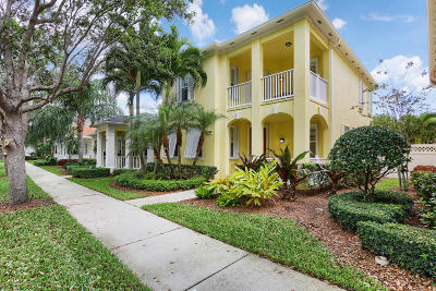 Jupiter Single Family Home For Sale: 291 Caravelle Drive