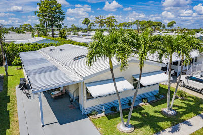 Boynton Beach Mobile Home For Sale: 4005 White Pine Drive