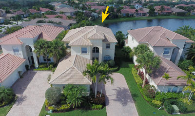 Palm Beach Gardens Single Family Home Contingent: 105 Via Escobar Place