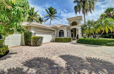 Boynton Beach Single Family Home For Sale: 51 Island Drive