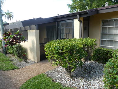 Delray Beach Single Family Home Contingent: 13583 Via Aurora #C