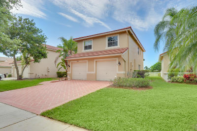 Lake Worth Single Family Home For Sale: 6280 Grand Cypress Circle
