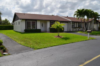 Delray Beach Single Family Home For Sale: 5088 Bottlebrush Street