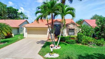 Boynton Beach Single Family Home For Sale: 4739 Sextant Circle
