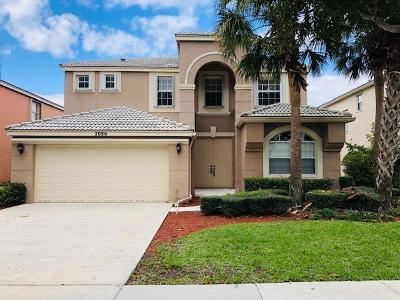 Royal Palm Beach Single Family Home For Sale: 2086 Reston Circle