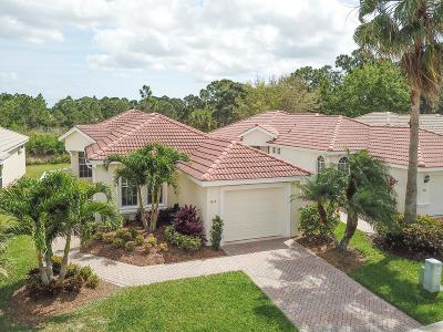 Port Saint Lucie Single Family Home For Sale: 617 SW Treasure Cove