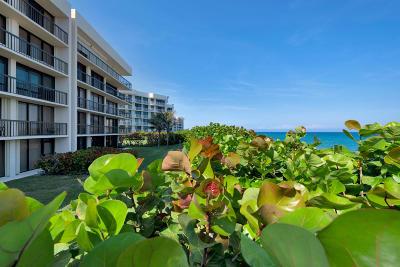 Palm Beach Condo For Sale: 3390 S Ocean Boulevard #104