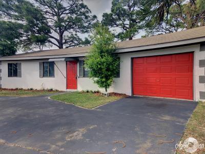Port Saint Lucie Single Family Home For Sale: 651 SE Port St Lucie Boulevard