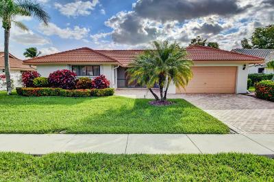Boynton Beach Single Family Home For Sale: 2672 SW 23rd Cranbrook Drive