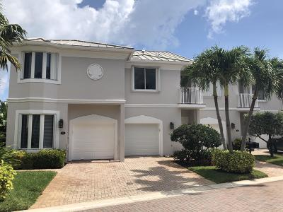 Juno Beach Townhouse For Sale: 753 Seaview Drive
