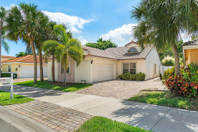 Boca Raton Single Family Home For Sale: 10212 Allegro Drive