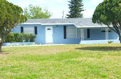 Jupiter Single Family Home For Sale: 609 E Whitney Drive