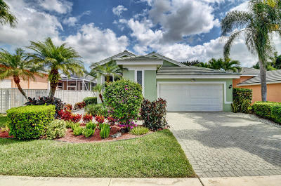 Boynton Beach Single Family Home For Sale: 7724 Rockford Road