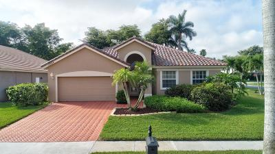 Boca Raton Single Family Home For Sale: 12364 Riverfalls Court