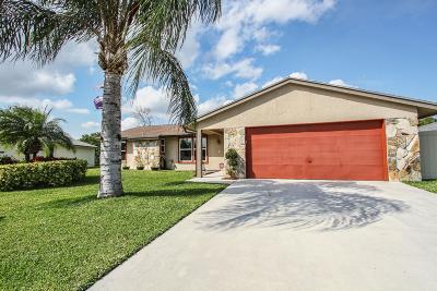 Boynton Beach Single Family Home For Sale: 5295 Raymond Drive