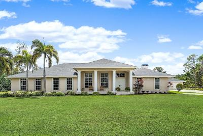 West Palm Beach Single Family Home Contingent: 13794 55th Road