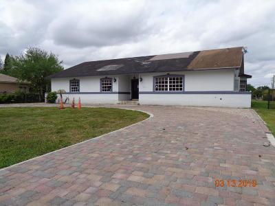 Davie Single Family Home For Sale: 14521 SW 24th Street