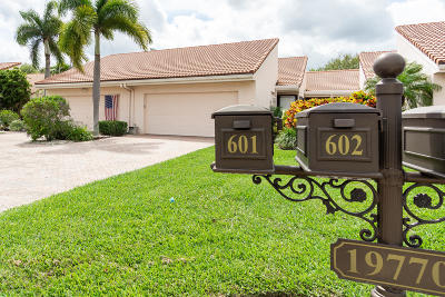 Boca Raton Single Family Home For Sale: 19770 Sawgrass Drive #602