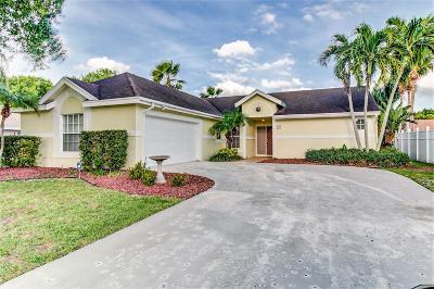 Boynton Beach Single Family Home For Sale: 9200 Paragon Way