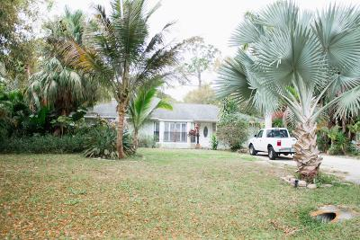 Fort Pierce Single Family Home For Sale: 6903 Pacific Avenue
