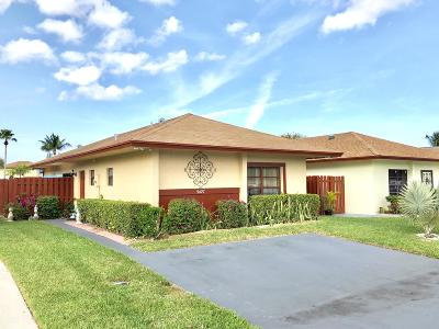West Palm Beach Single Family Home For Sale: 5427 Mendoza Street