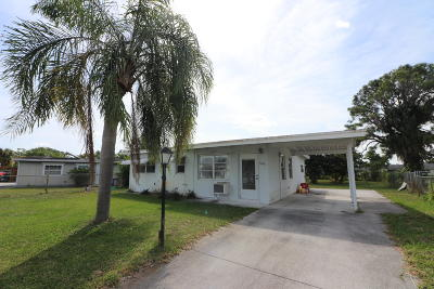 West Palm Beach Single Family Home Contingent: 5630 S Rue Road