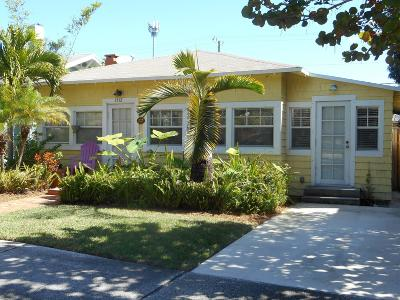 West Palm Beach Multi Family Home For Sale: 1512 Florida Avenue