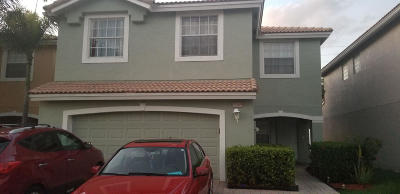 West Palm Beach Single Family Home For Sale: 3381 Turtle Cove