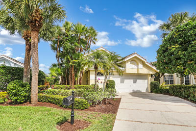 Jupiter Single Family Home For Sale: 16530 Riverwind Drive