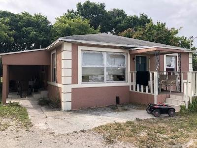 Fort Pierce Single Family Home For Auction: 321 16th Street