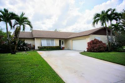 Boca Raton Single Family Home For Sale: 17665 Oakwood Avenue