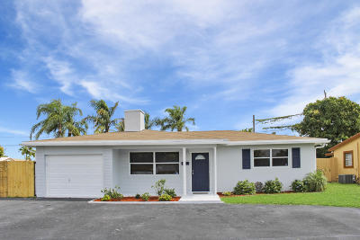 Pompano Beach Single Family Home For Sale: 3020 NE 1 Avenue