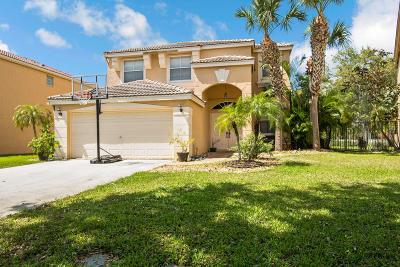 Lake Worth Single Family Home For Sale: 7518 Oak Grove Circle