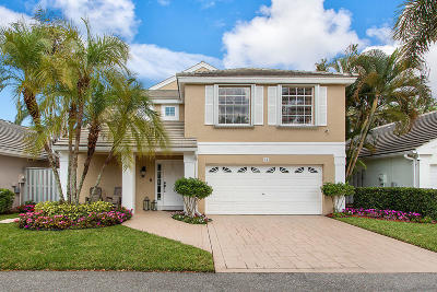 Palm Beach Gardens Single Family Home For Sale: 14 Admirals Court
