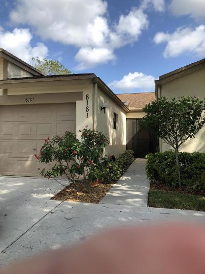 Boca Raton Single Family Home Contingent: 8181 Springview Terrace