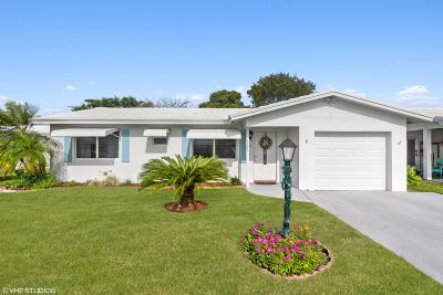 Boynton Beach Single Family Home Contingent: 1105 SW 5th Court