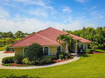 Port Saint Lucie Single Family Home For Sale: 2622 SW River Shore Drive