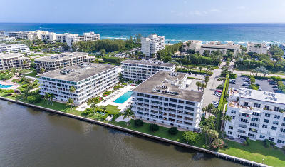 Palm Beach Condo For Sale: 2784 S Ocean Boulevard #103e