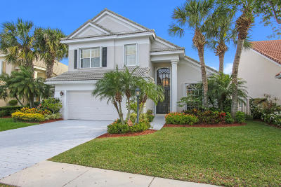 Palm Beach Gardens Single Family Home For Sale: 83 Satinwood Lane