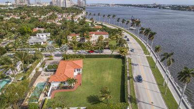 West Palm Beach Residential Lots & Land For Sale: 2501 S Flagler Drive