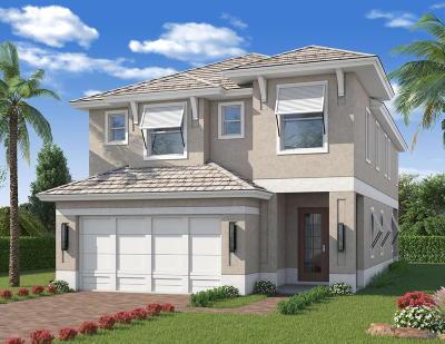 Palm Beach Gardens Single Family Home For Sale: 146 Bonnette Hunt Club Lane