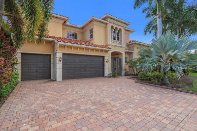 Palm Beach Gardens Single Family Home For Auction: 4122 Venetia Way