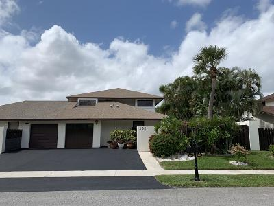 Delray Beach Single Family Home For Sale: 232 SW 28th Avenue